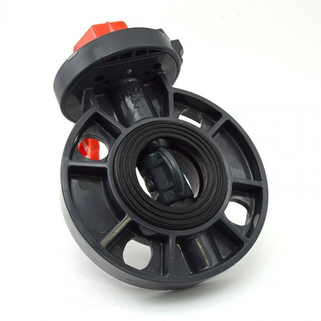 PVC Butterfly Valve Lever Handle, Fitting ( 2 or 2.5 or 3 inch )