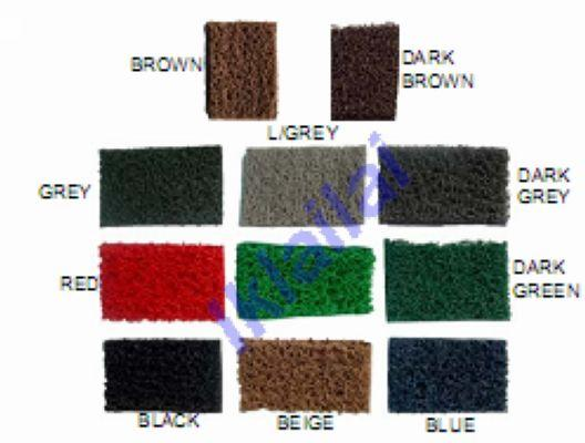 PVC Carpet Mat /Coilmat for All 5-Seat Car Modal Black /Grey Colour