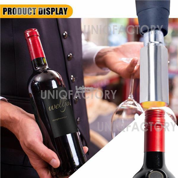 PVC Film Heat Shrinkage Cap Machine Wine Bottle Shrink Seal Hot Gun
