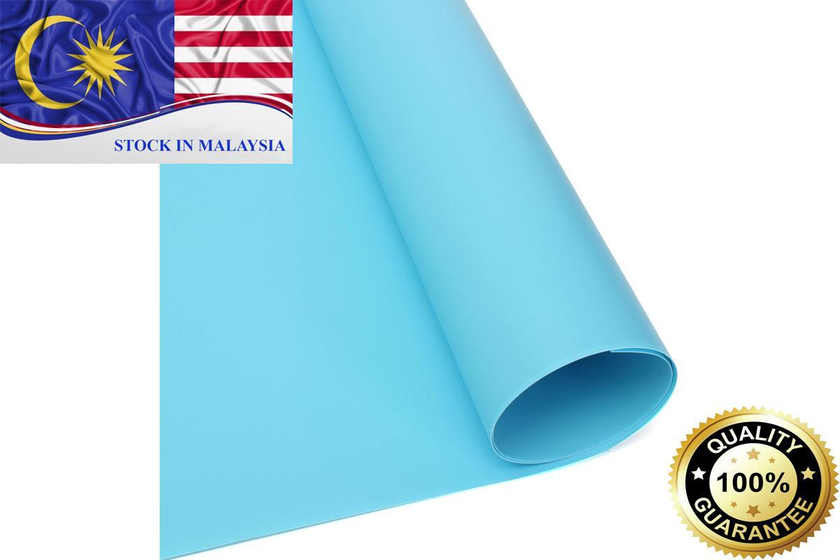 PVC Photo Photography Studio Lighting Backdrop Washable Blue 60 x130cm