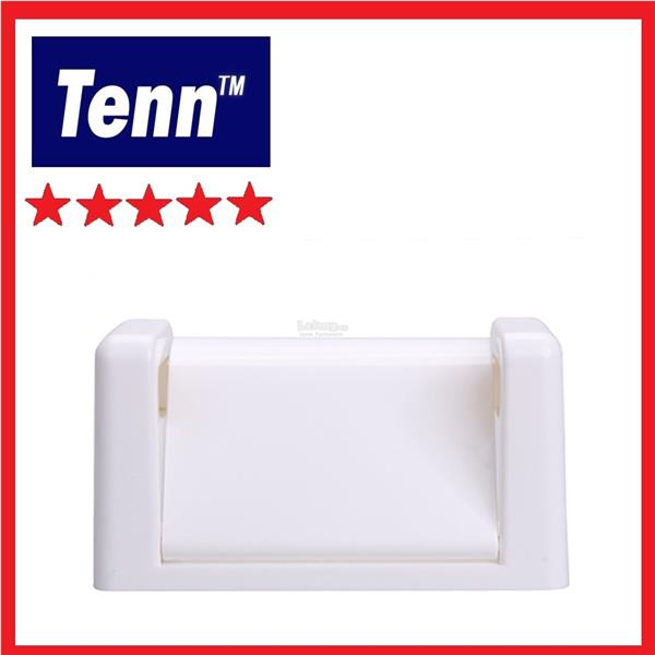 PVC TOILET PAPER HOLDER C/W COVER