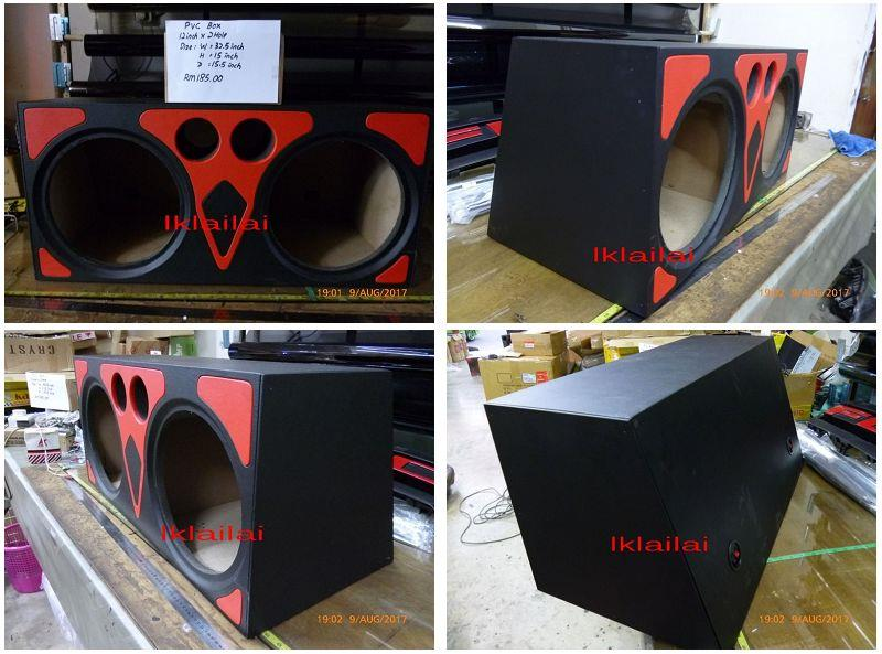 PVC Woofer Box Double Hole 12inch