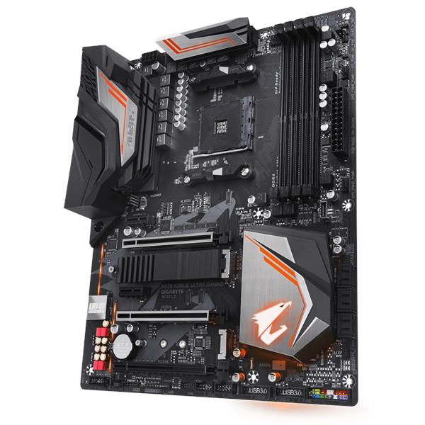 PWP GIGABYTE X470 ULTRA GAMING & AMD RYZEN 5 2600x PROCESSOR
