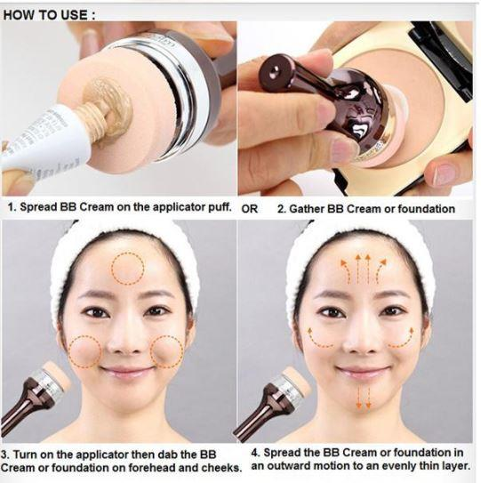 how to set foundation makeup