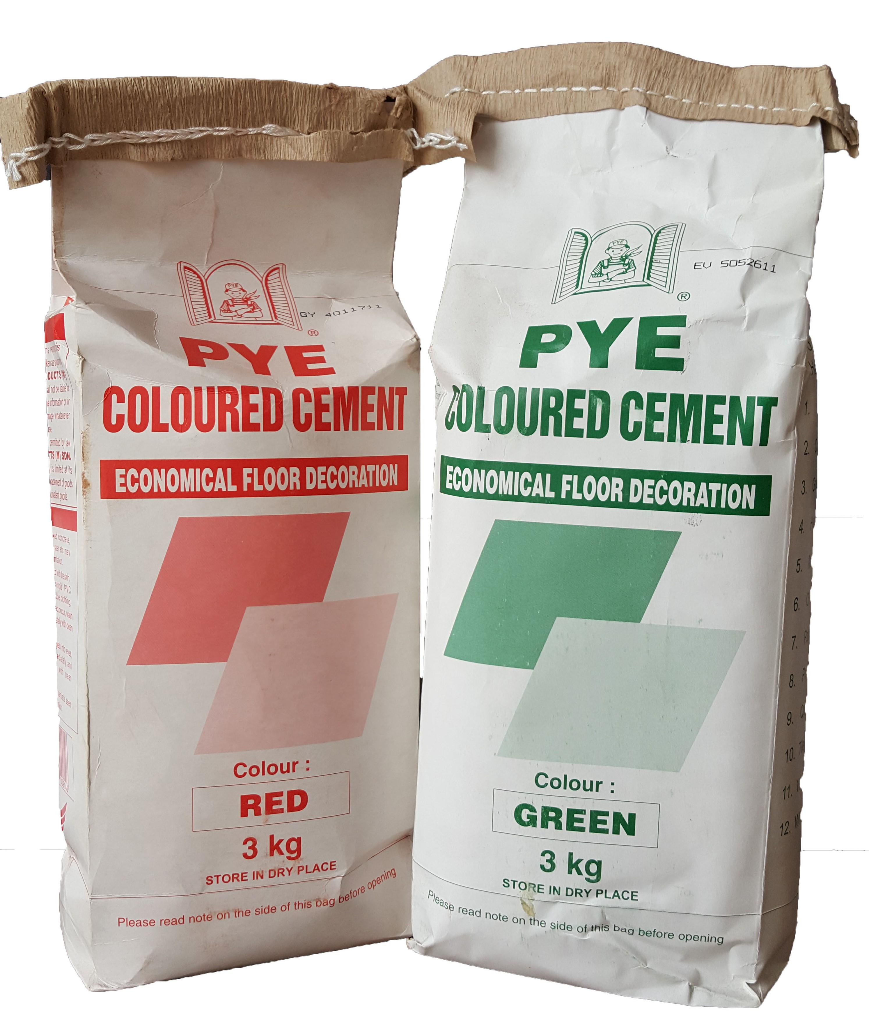 PYE Colour Cement Decoration & Renov (end 4/2/2021 12:00 AM)