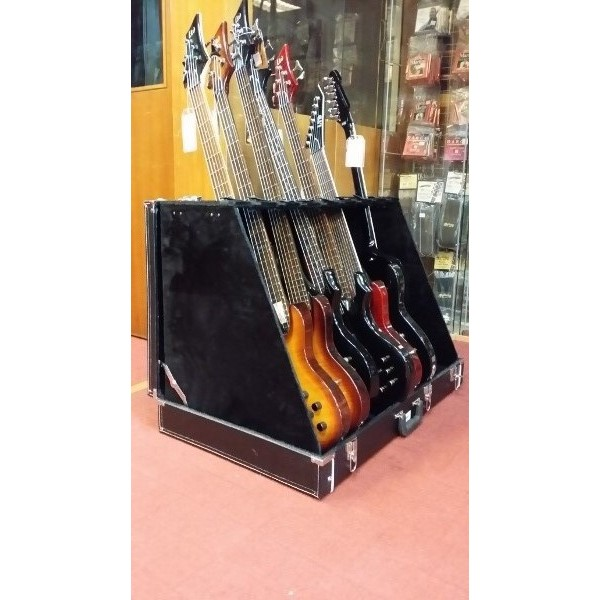 pyramid guitar case rack fit up to end 1 30 2021 12 00 am. Black Bedroom Furniture Sets. Home Design Ideas