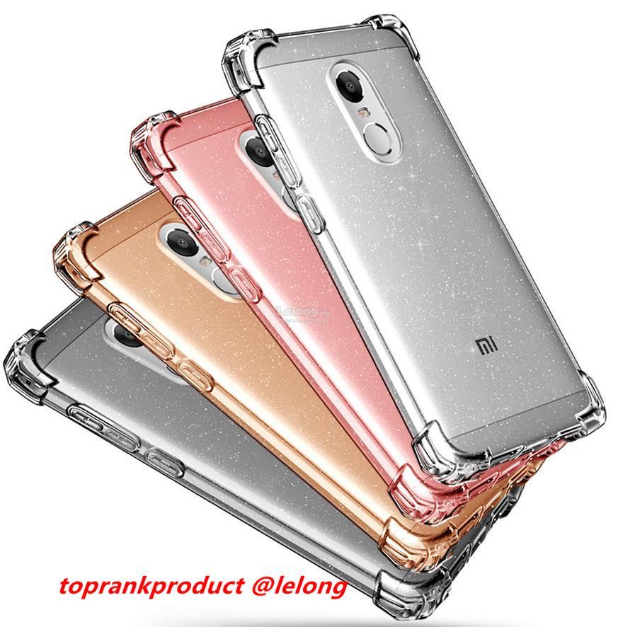 nuovo stile 5a9a1 de144 Pzoz Xiaomi Redmi Note 4 4X Pro Silicone TPU Armor Case Cover Casing
