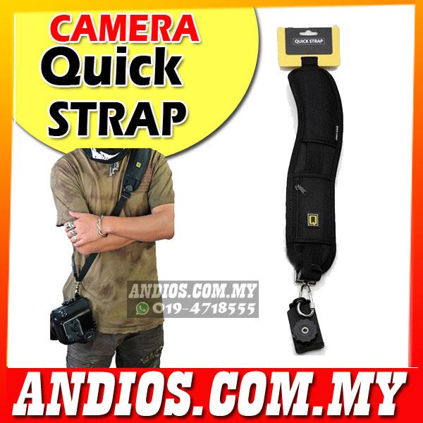 Q-Strap Quick Strap Camera Sling Single Camera Tali Photographer