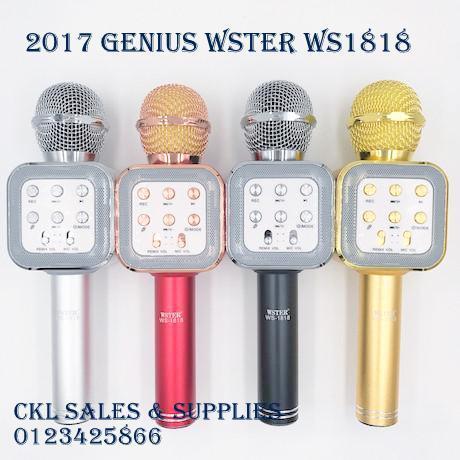 Q7 Q9 WS858 WS1816 Ws1818 Mic Bluetooth Microphone Speaker Karaoke KTV