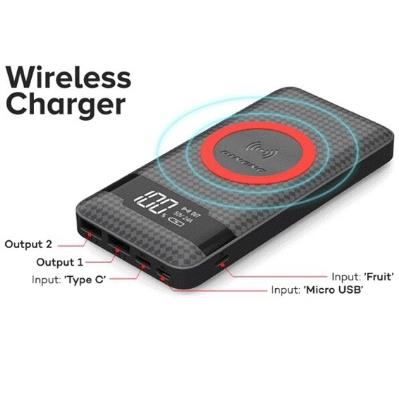 (QC 3.0) Authentic PINENG PN886 10000mAh Power Bank Wireless Charger