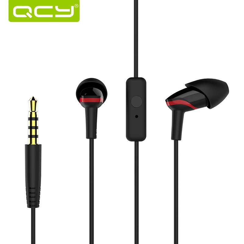 QCY QM03 Earphone Headphones In-Ear Bass Earphones