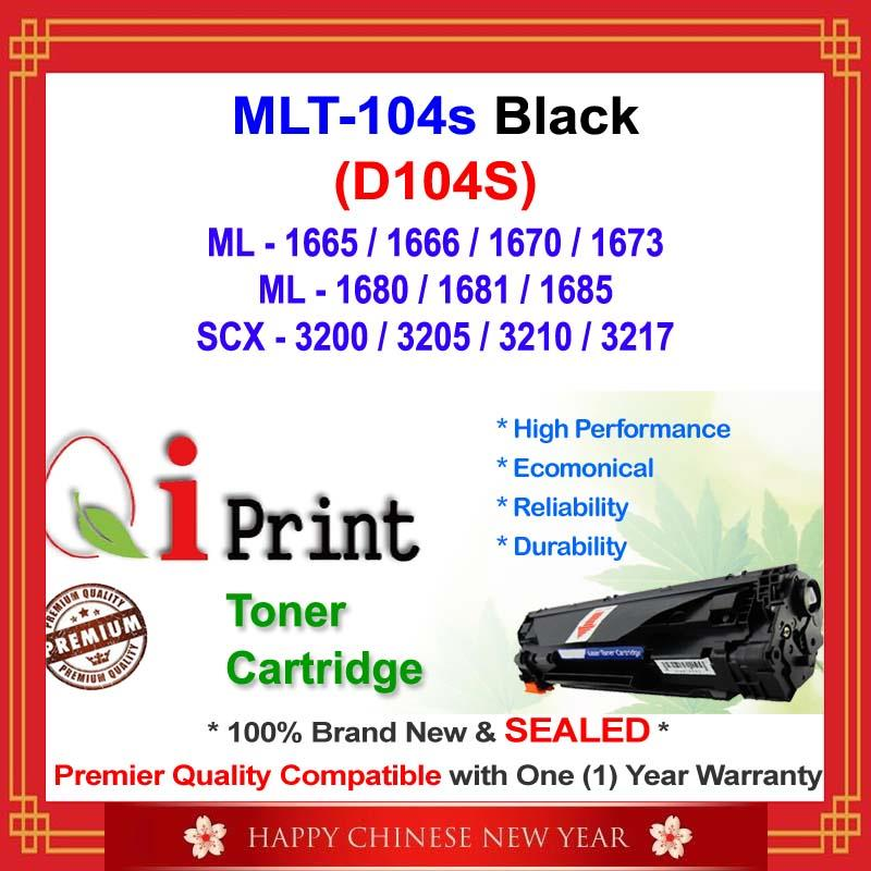 Qi Print D104S MLT-104S ML1670 1680 Toner Compatible * NEW SEALED *