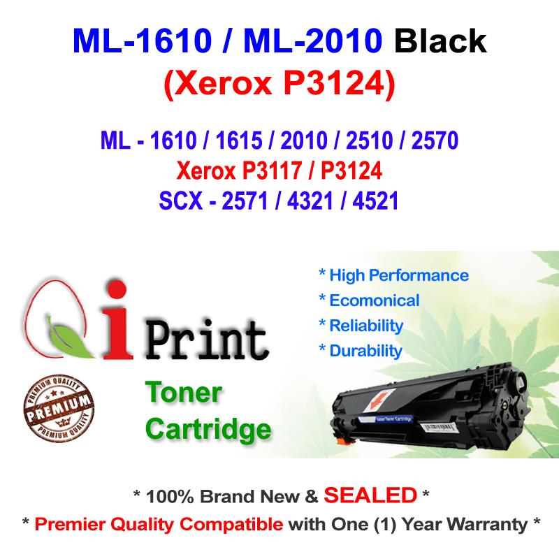 Qi Print ML-2010 ML2010 1610 Toner Compatible * NEW SEALED *