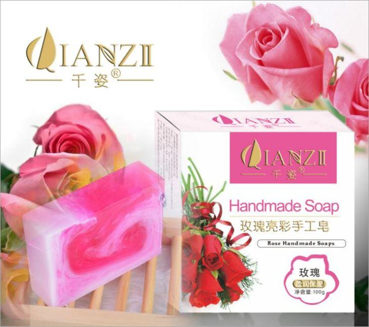 QianZi~ Rose Handmade Soap