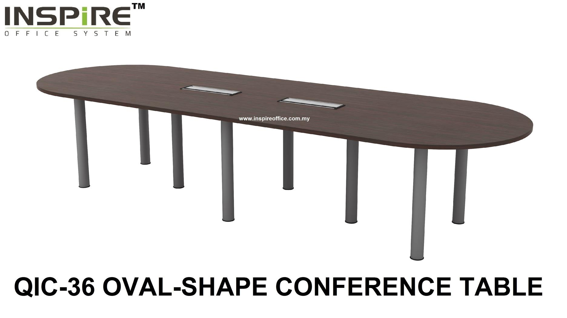 QIC-36 OVAL-SHAPE CONFERENCE TABLE