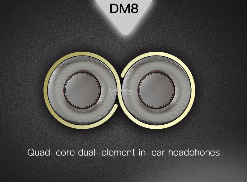 QKZ DM8 In-Ear Earphone Mini Dual Dr (end 3/6/2019 10:15 PM