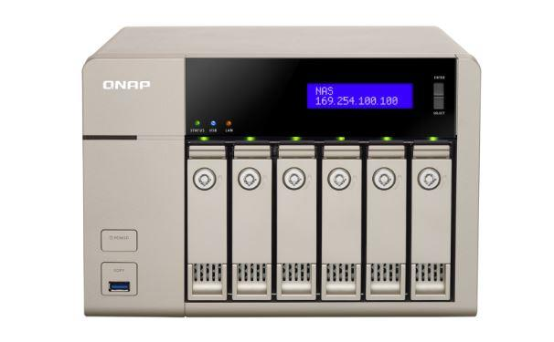 NEW QNAP 10GBE-ENABLED GOLDEN CLOUD TURBO VNAS-2YW (TVS-663-4G)