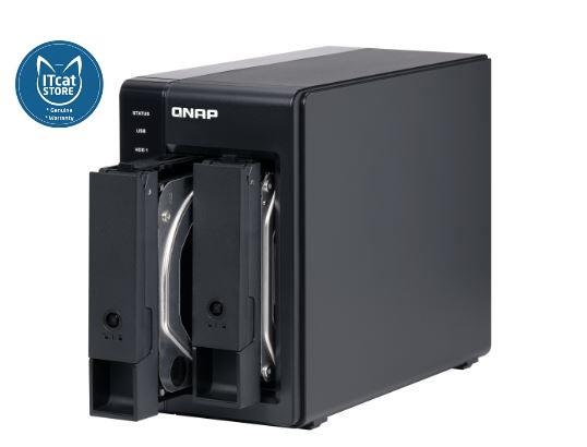 NEW QNAP 2-BAY USB TYPE-C DIRECT NAS - 2YW (TR-002)