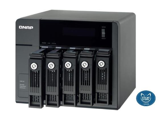 NEW QNAP ECONOMICAL RAID EXPANSION ENCLOSURE FOR TURBO NAS-2YW(UX-500)