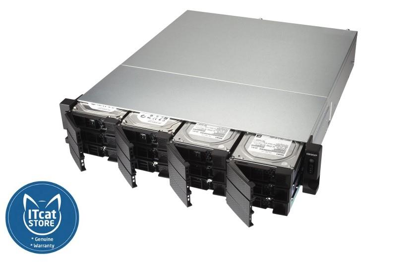 NEW QNAP HIGH-PERFORMANCE QUAD CORE NAS/DUAL 10GbE-3YW(TS-1273U-RP-8G)