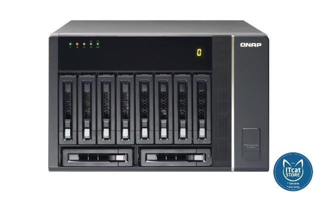 NEW QNAP RAID EXPANSION ENCLOSURE FOR TURBO NAS 5YW (REXP-1000 PRO)