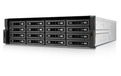 QNAP REXP-1620U-RP 16-BAY 12GBPS SAS RAID EXPANSION ENCLOSURE