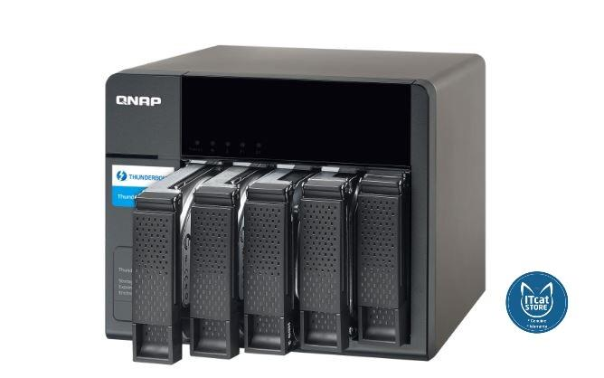 NEW QNAP STORAGE EXPANSION ENCLOSURE FOR THUNDERBOLT NAS-2YW (TX-500P)