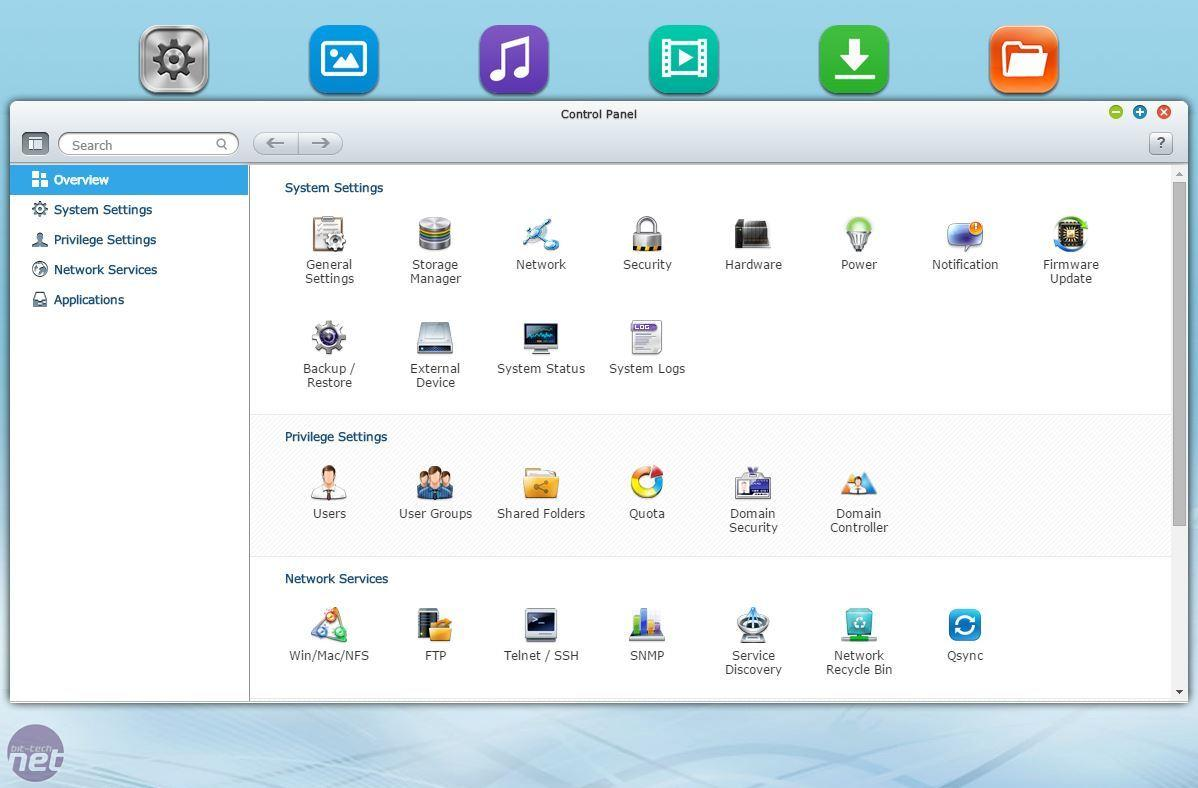QNAP TS-231 2-Bay DLNA Cloud NAS, Mobile Apps, AirPlay Support