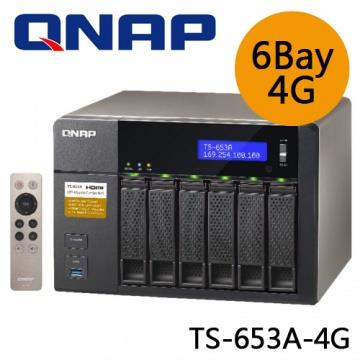 QNAP TS-653A-4G Business‐Set 6-Bay NAS Storage(TS-653A-4GB-RAM)