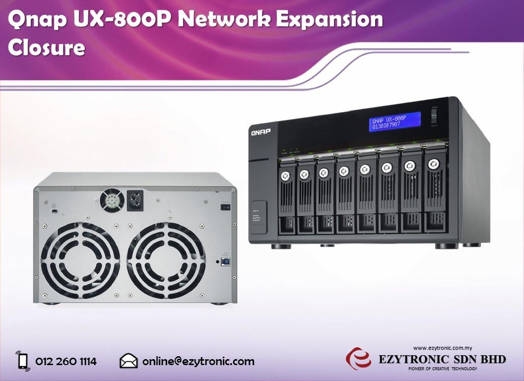 Qnap UX-800P Network Expansion Closure