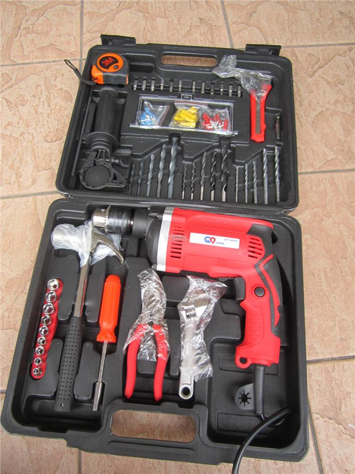 QNine 780W 13mm Impact Drill 100pcs Smart Set
