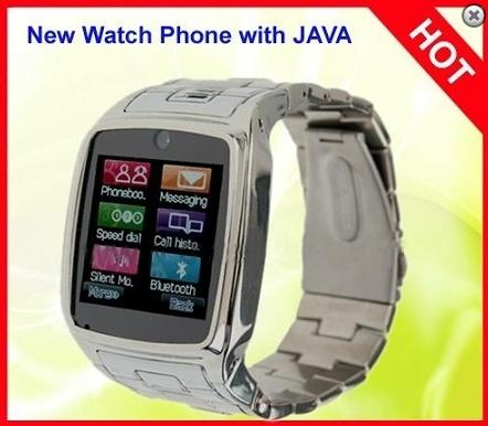 QuadBand Touch Screen Watch Phone with Camera (WP-TW810S).