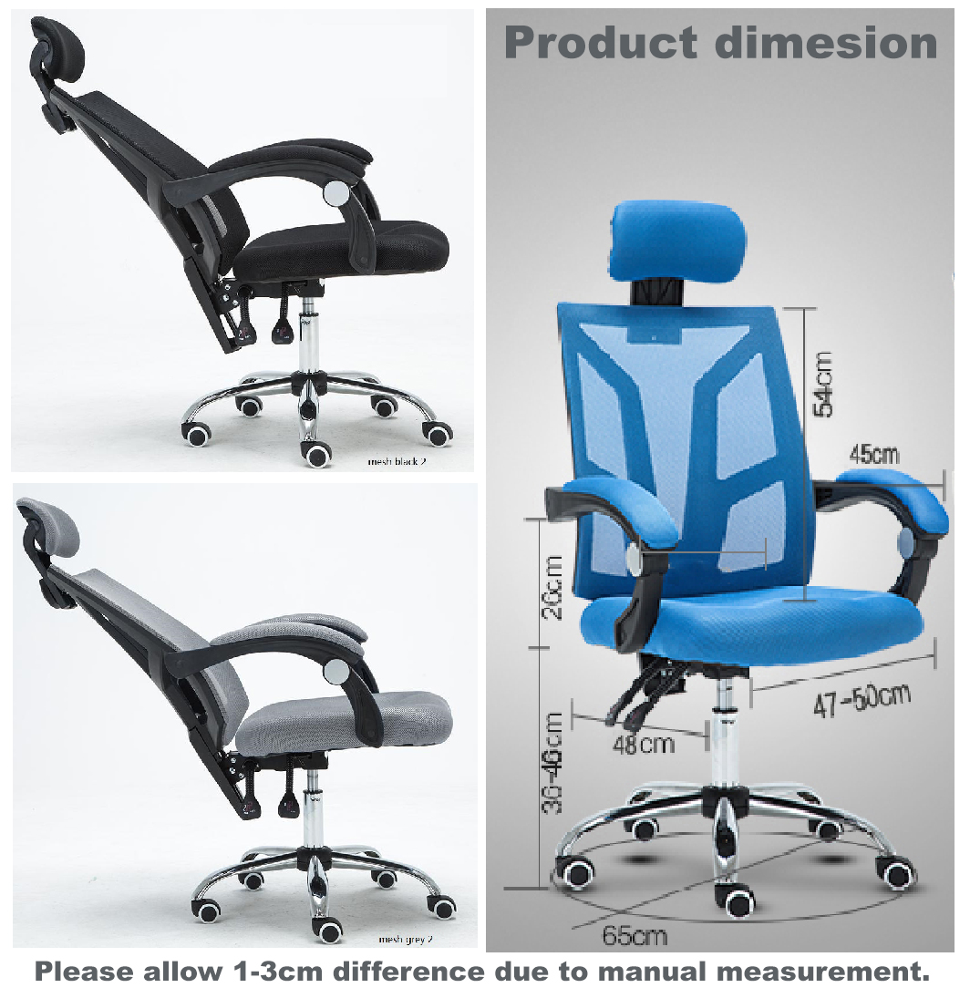 Quality Office Chair Lift Swivel Chair Household Reclining Mesh Chair