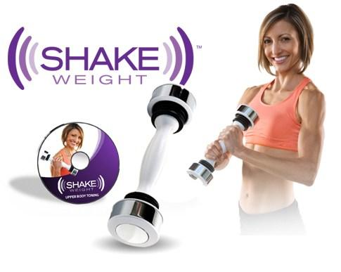 Quality Shake Weight for Women Muscle Toning Dumbbell - Workout DVD