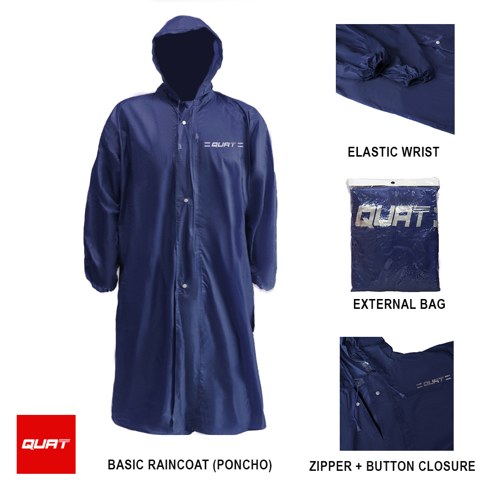 58503a6cd9c QUAT Raincoat Q52 Basic Raincoat - (end 10/17/2021 12:00 AM)