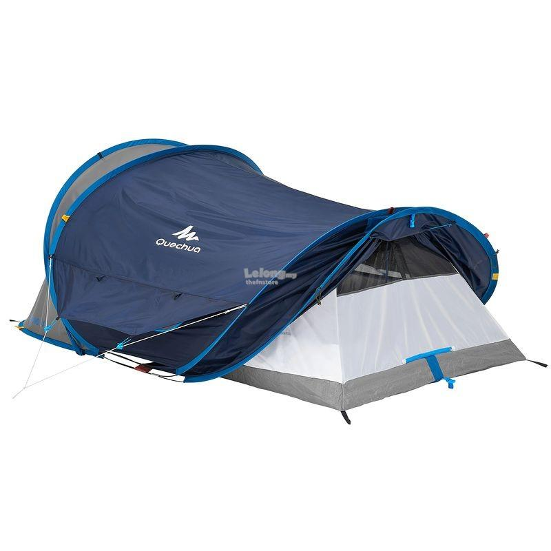 QUECHUA 2 seconds XL AIR c&ing tent - sleeps 2  sc 1 st  Lelong.my & QUECHUA 2 seconds XL AIR camping te (end 1/20/2018 10:15 AM)