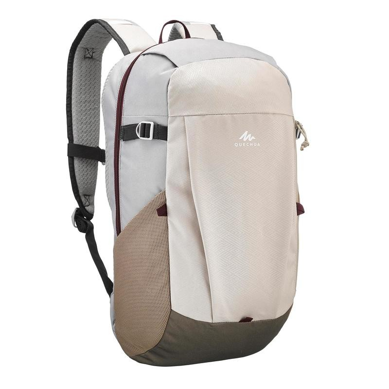 ea2a384ece633 Quechua NH100 20 L Country Walking Hiking Backpack - Black, Beige, Brown,  Purp