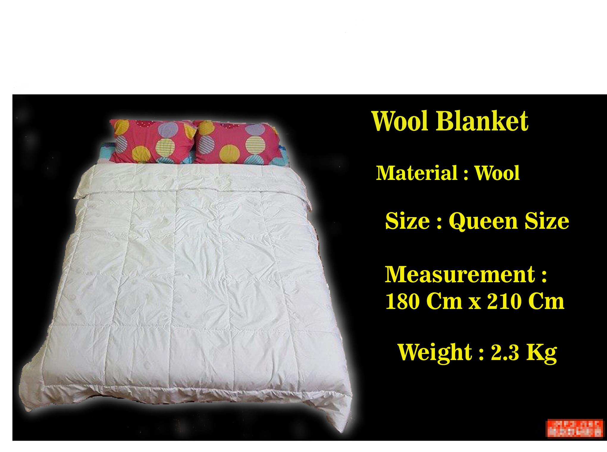Queen Size Wool Blanket