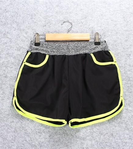 Quick Dry with Inner Ladies' Sport Shorts (Yellow)