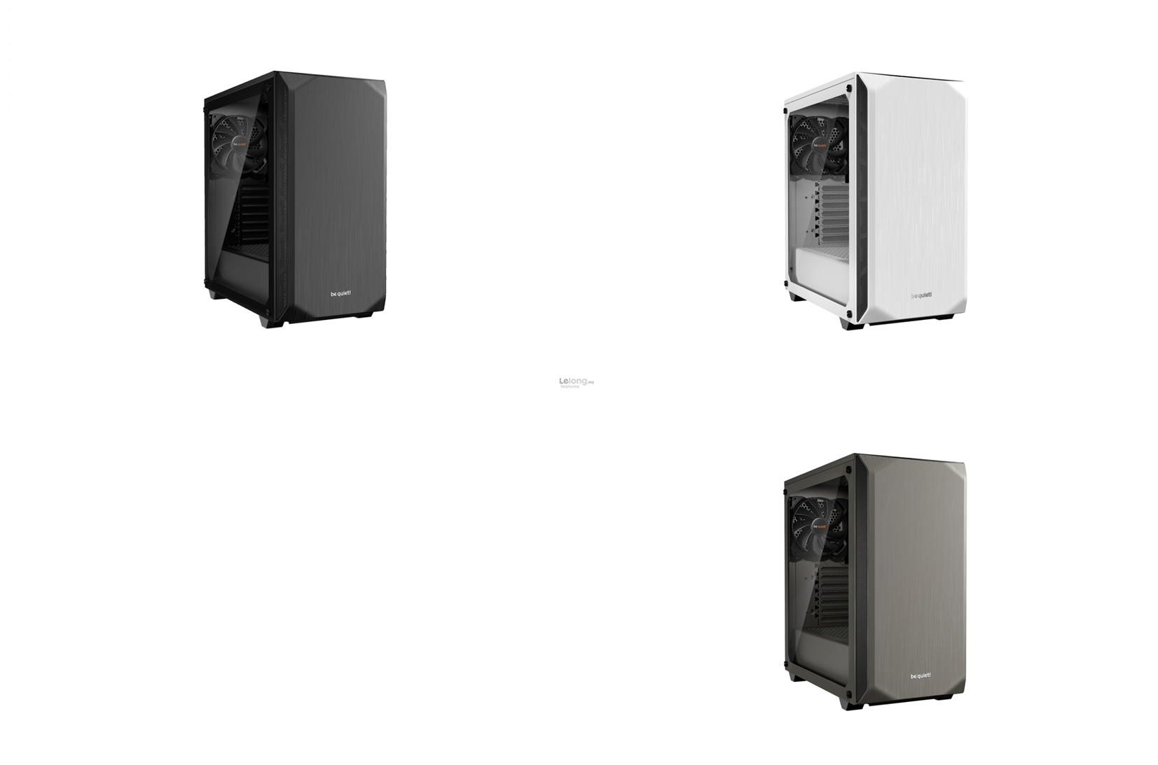 # be quiet! Pure Base 500 Window T.G Mid Tower Case # 3 Color Avlbl