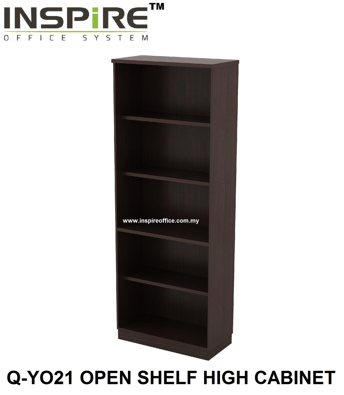 QUINN SERIES Q-YO21 OPEN SHELF HIGH CABINET