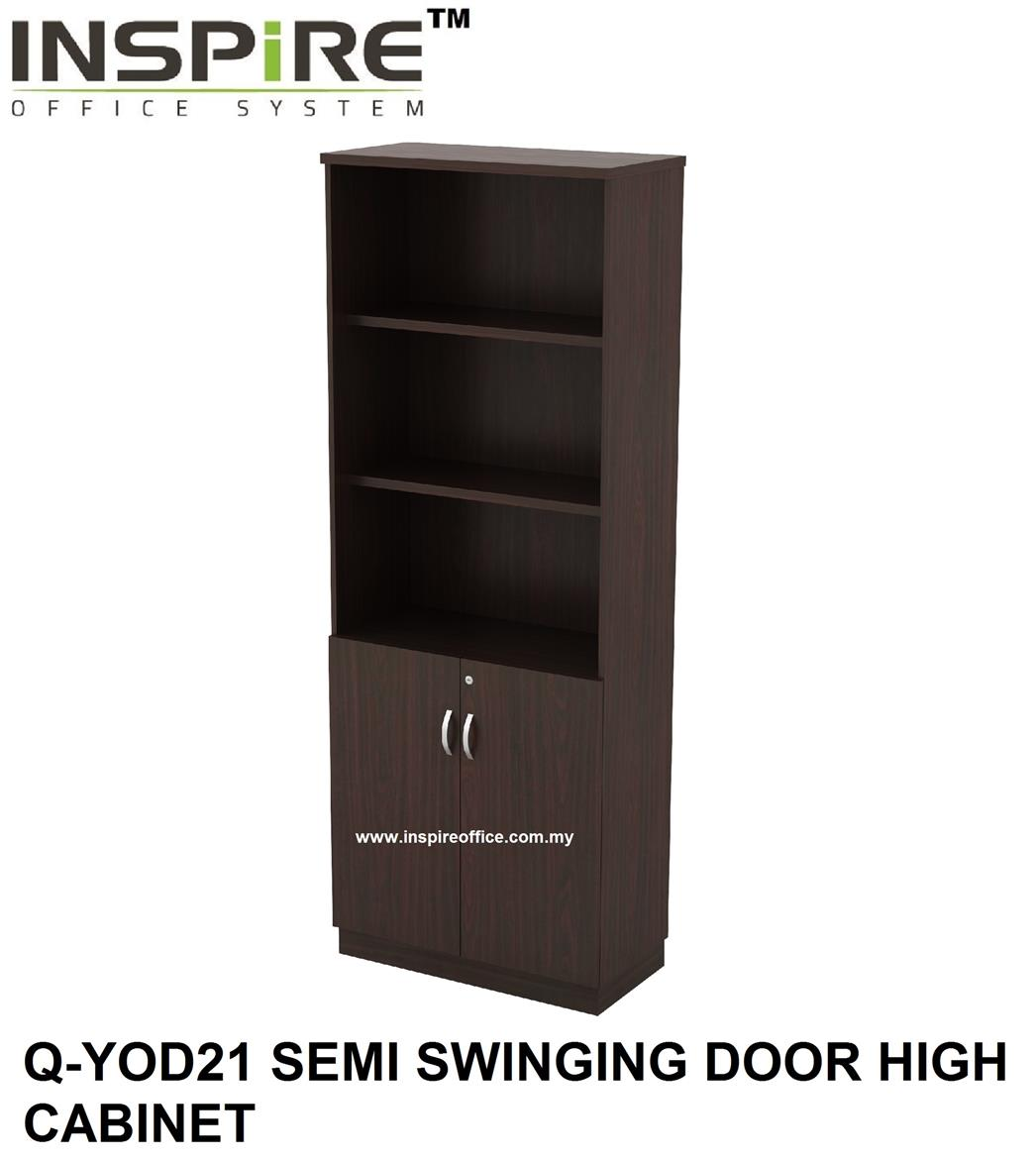 QUINN SERIES Q-YOD21 SEMI SWINGING DOOR HIGH CABINET