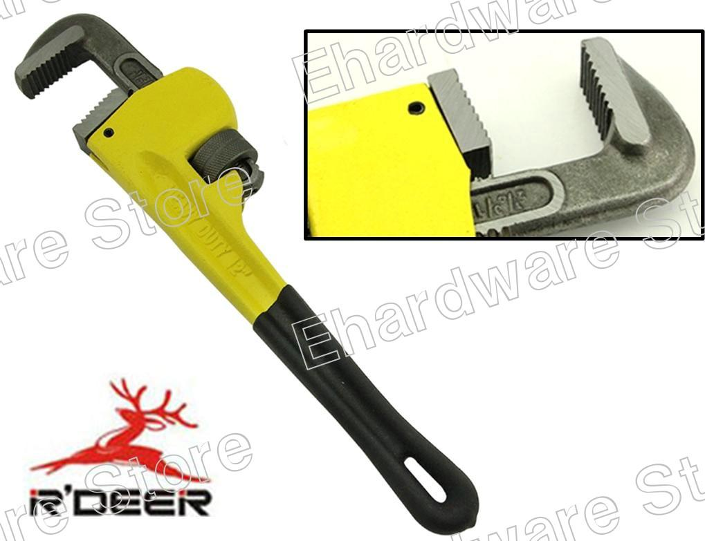 R'Deer Heavy Duty Pipe Wrench (RSOS)