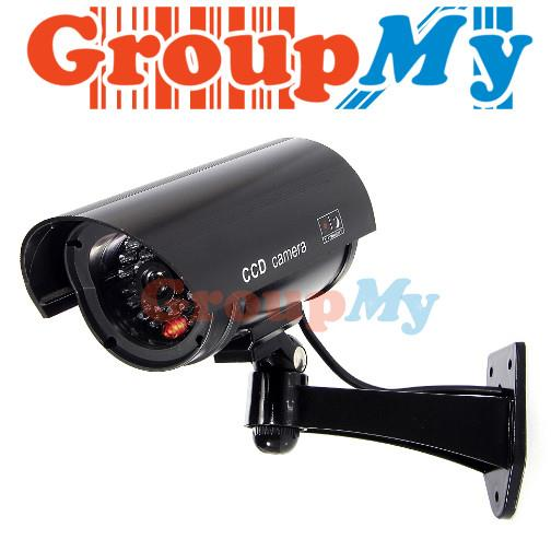 R Dummy Camera Security Surveillance LED CCTV Red Flashin
