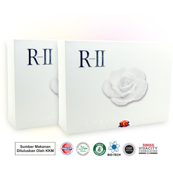 R-II Forever Young Rose Stem Cell Whitening R2 (20 Sachetsx8g)