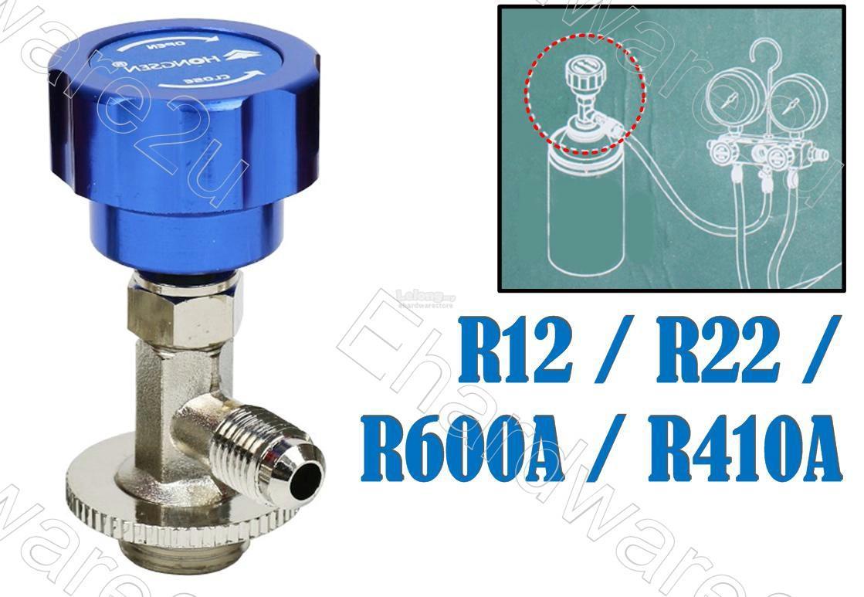 R12/R22/R410A/R600A Refrigerant Can Tap Dispenser Valve (HS-338A)