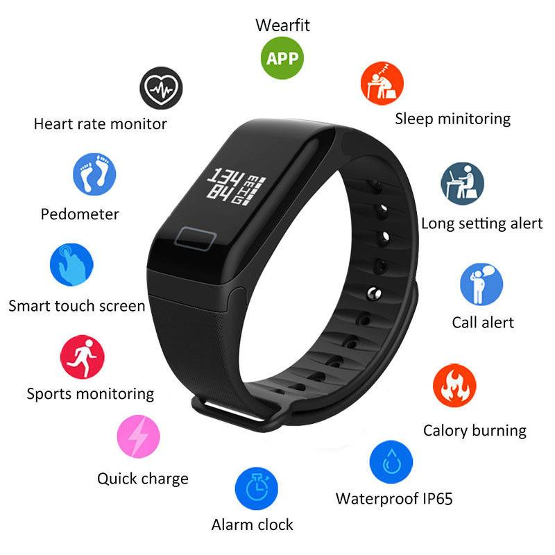 R3 Smart Wristband Fitness Tracker Heart Rate Blood Presure Monitor