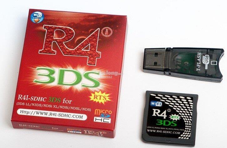 RTS 3DS TÉLÉCHARGER R4 LOGICIEL