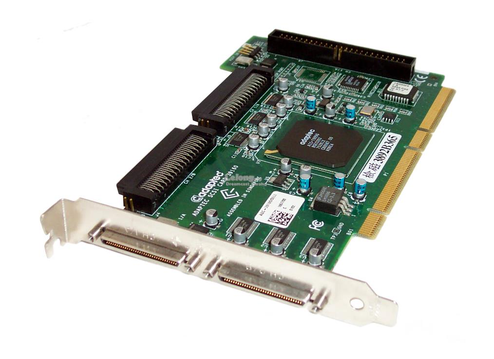 R5601 DELL 39160 DUAL CHANNEL ULTRA160 SCSI CONTROLLER CARD
