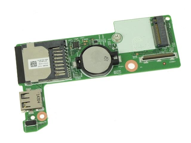 R5TGD - DELL CARD READER W/ RTC BATTERY FOR INSPIRON 11 3147 (REF)